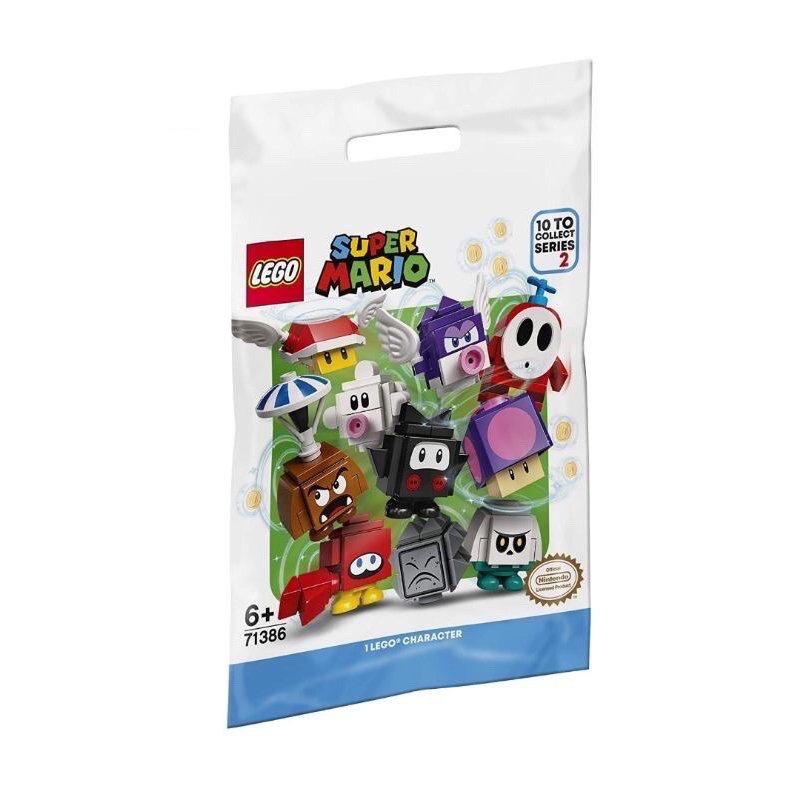 LEGO 樂高積木 Super Mario 超級瑪利歐 71386 角色組合包 第2代