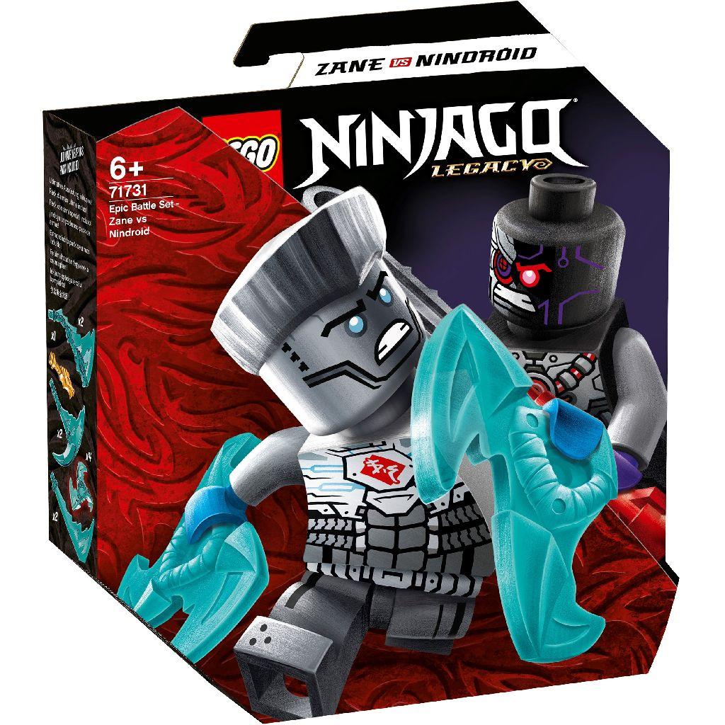 【2021.1月新品】LEGO 樂高積木 Ninjago 71731 終極對戰組 冰忍對決忍者機械人