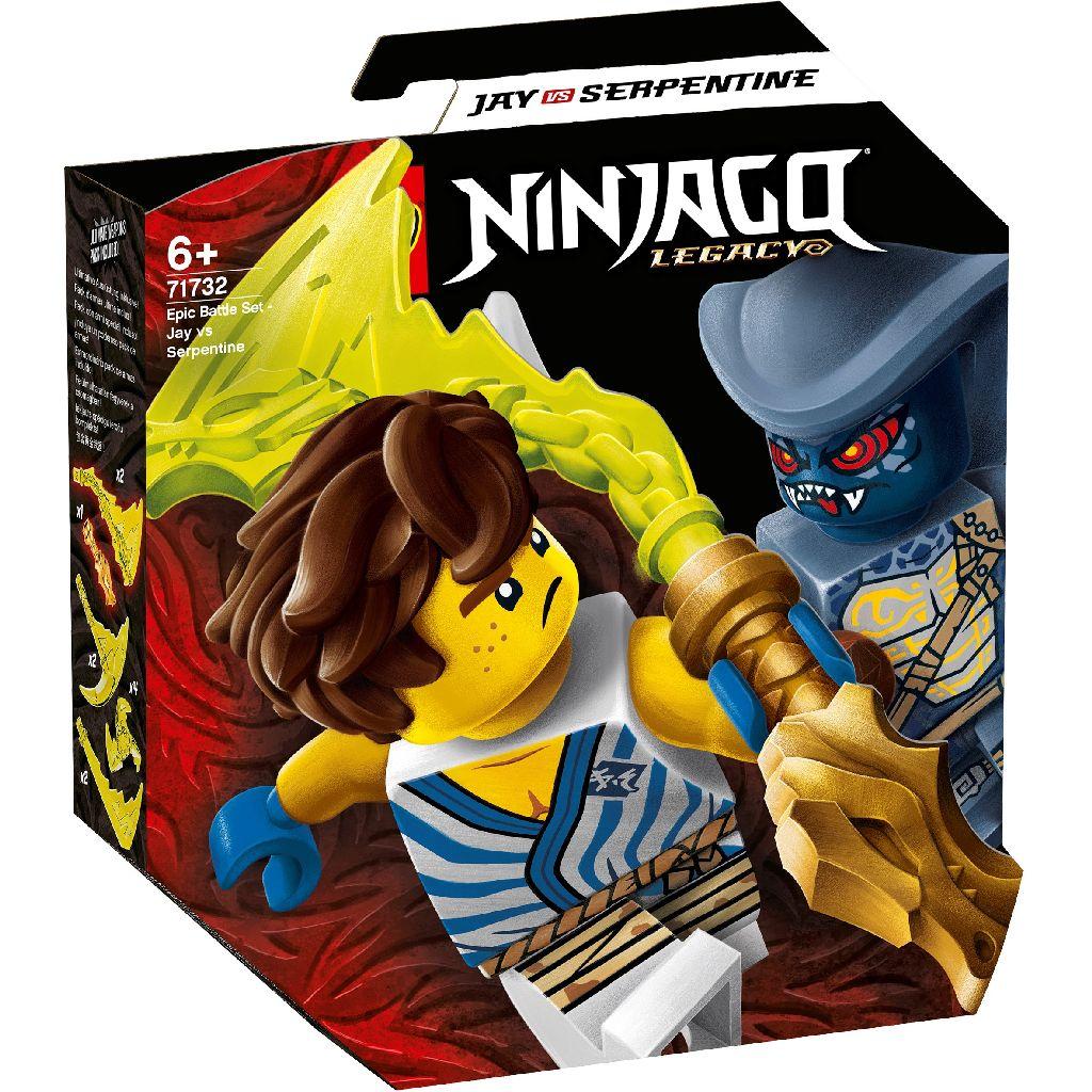 【2021.1月新品】LEGO 樂高積木 Ninjago 71732 終極對戰組 阿光對決蛇族