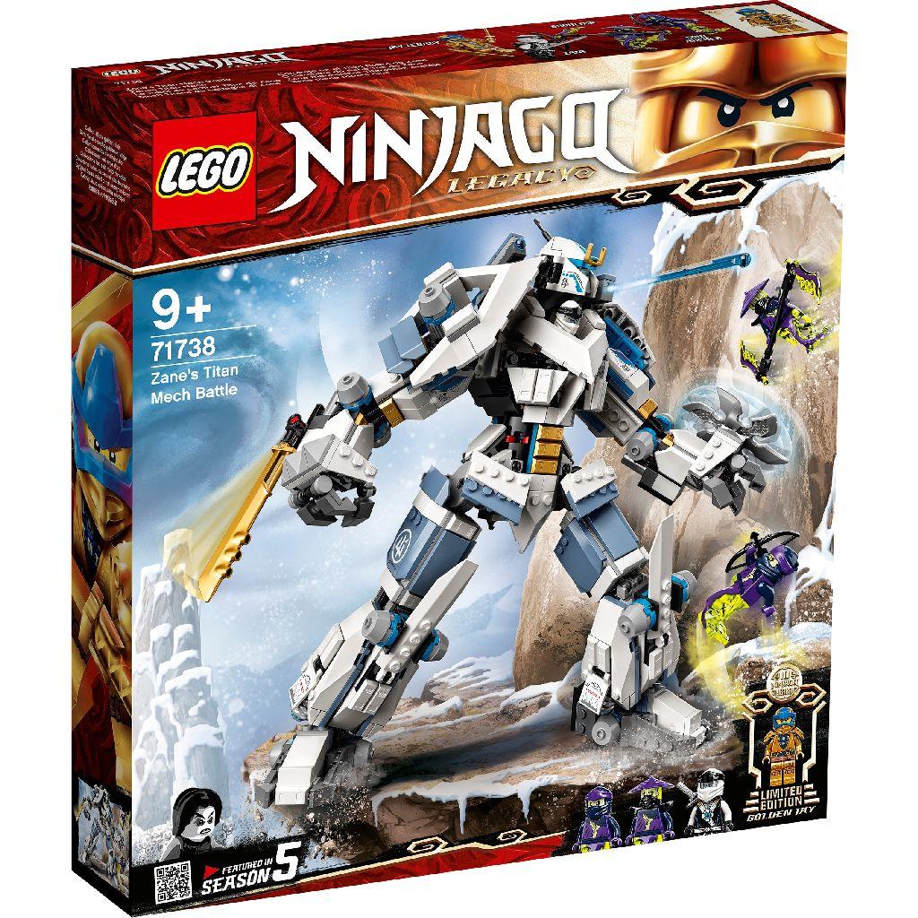 【2021.1月新品】LEGO 樂高積木 Ninjago 71738 冰忍的鈦機械人之戰