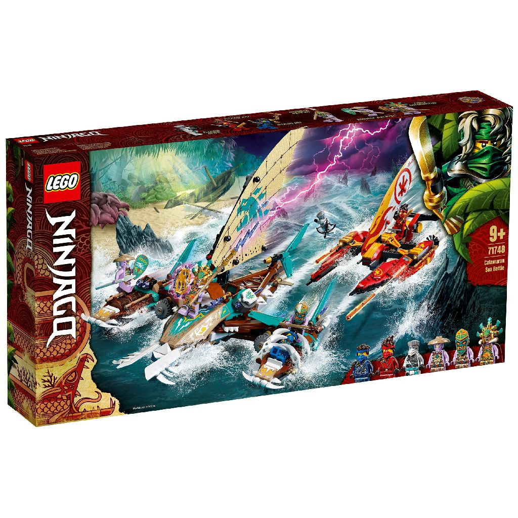 LEGO 樂高積木 Ninjago 71748 雙體船海上大戰