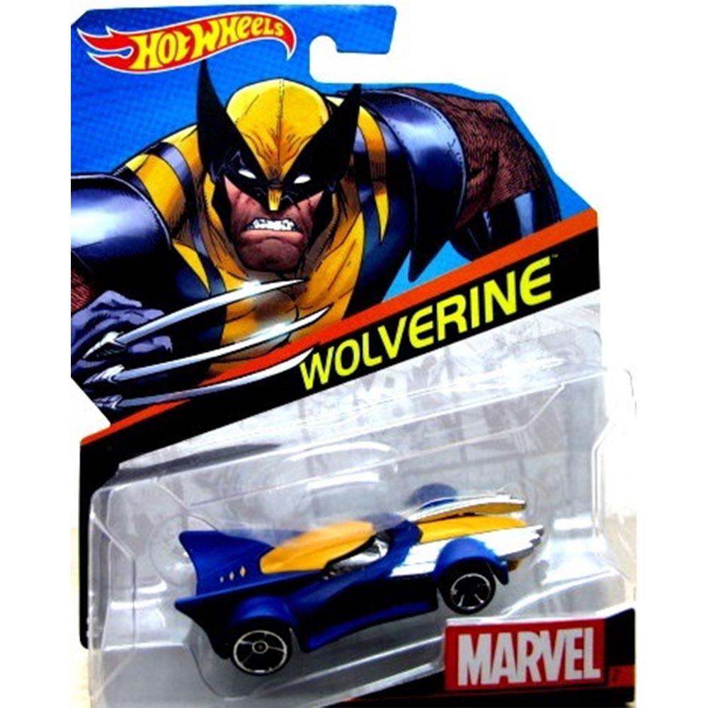 風火輪系列~1:64 Marvel 小車 WOLVERINE