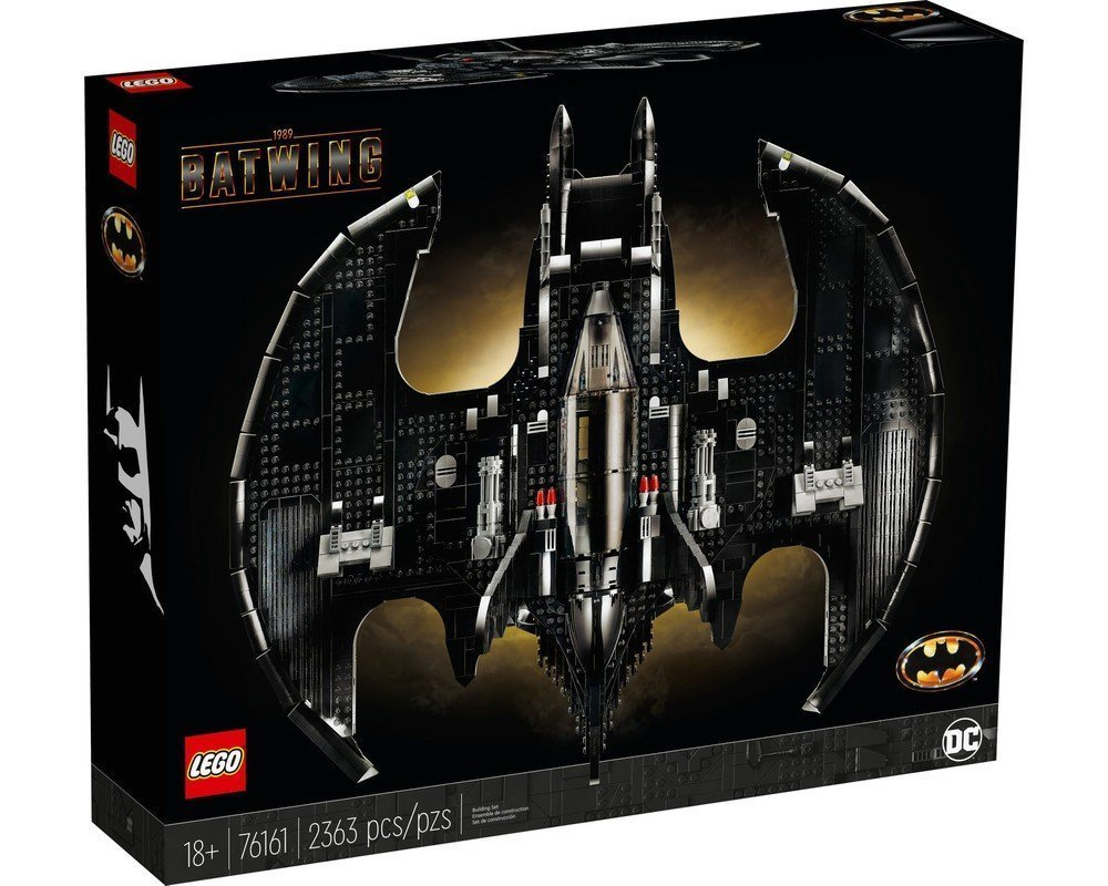 LEGO 樂高積木 Super Heroes 76161 1989 Batwing