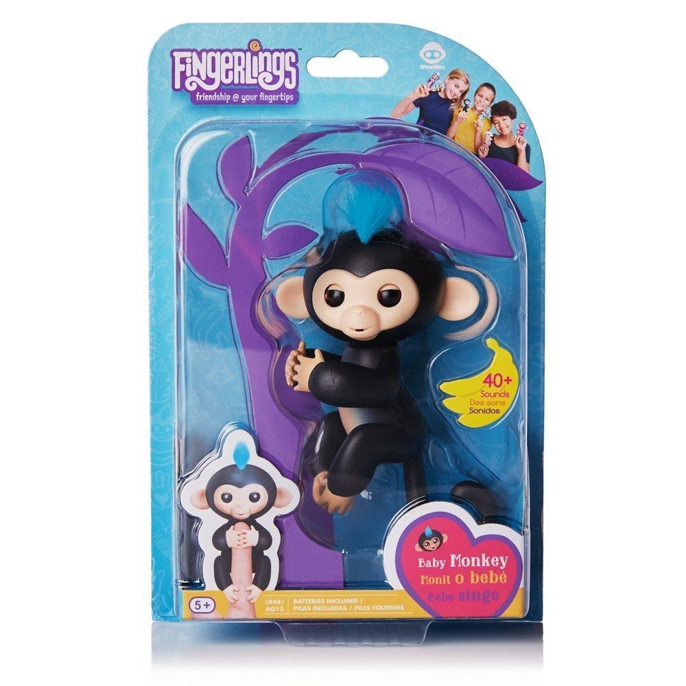 互動寵物猴 手指猴 黑 【特價品】
