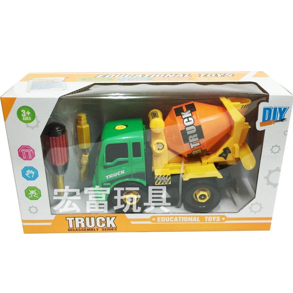 工程車系列 盒裝DIY工程車 7714
