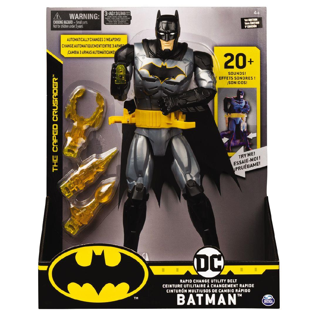 Batman 12吋蝙蝠俠特色可動人偶