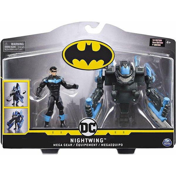 Batman 4吋蝙蝠俠變形可動人偶 NOGHTWING