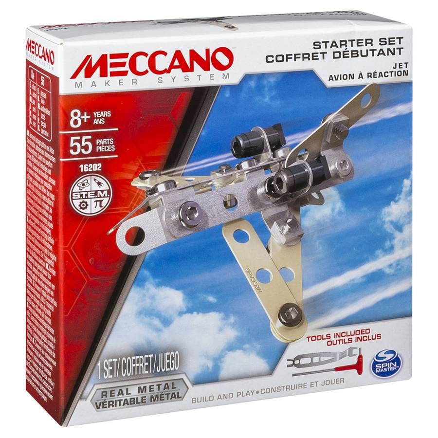 MECCANO 金屬組合模型 #16202 入門套件組 飛機