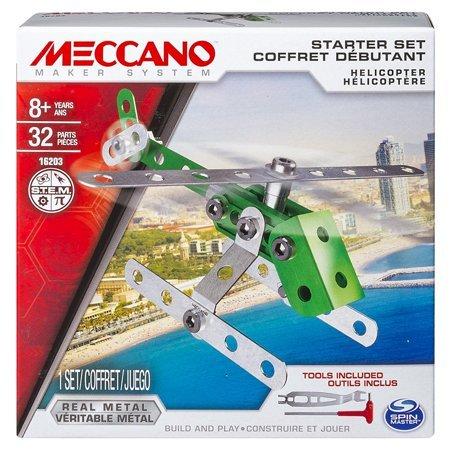 MECCANO 金屬組合模型 #16202 入門套件組 直昇機