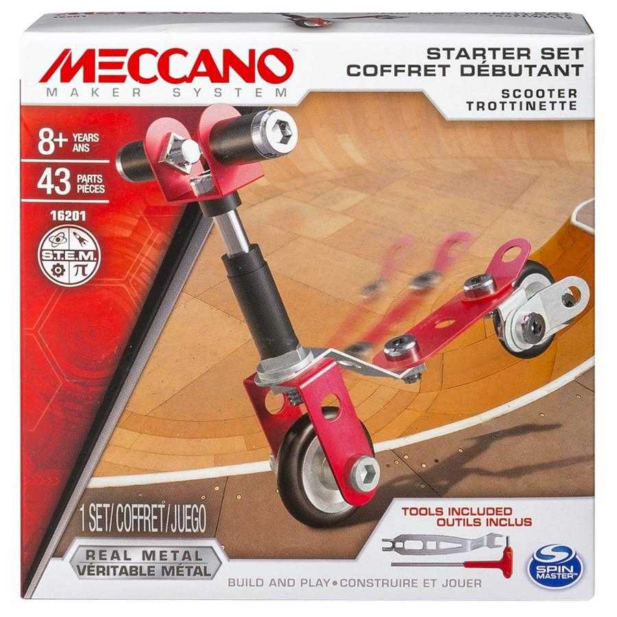 MECCANO 金屬組合模型 #16202 入門套件組 滑板車