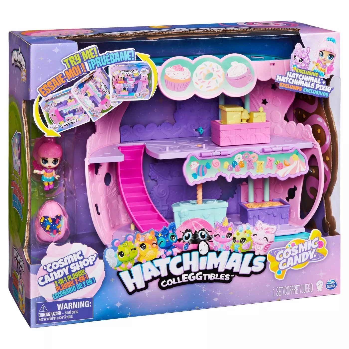 Hatchimals 迷你寵物蛋 甜蜜糖果屋 (6056543)