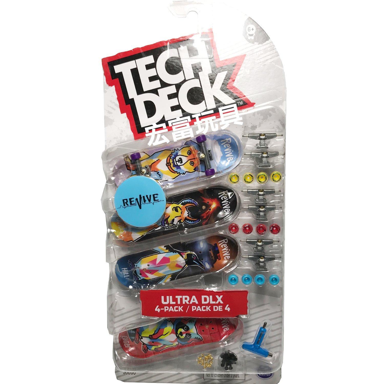 Tech Deck 手指板四入組