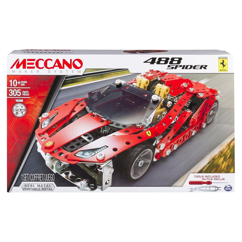 MECCANO 金屬組合模型 #16309 法拉利488 GTB 跑車組