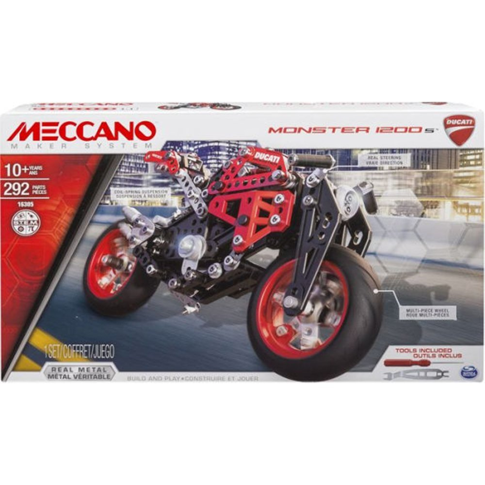 MECCANO 金屬組合模型 #16305 Ducati重型檔車組 (6027036)