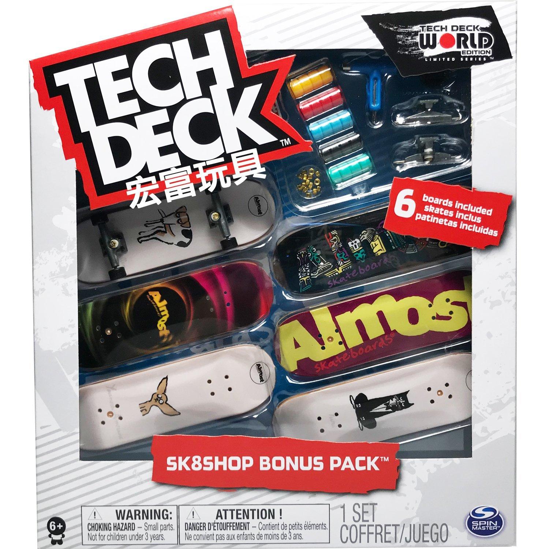 Tech Deck 手指板六入組