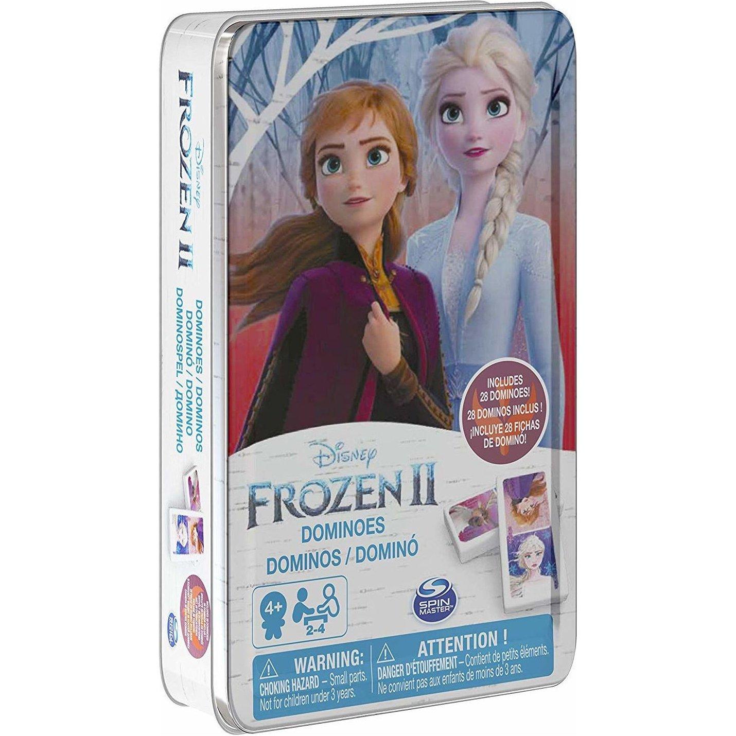 冰雪奇緣2 鐵盒多米諾骨牌