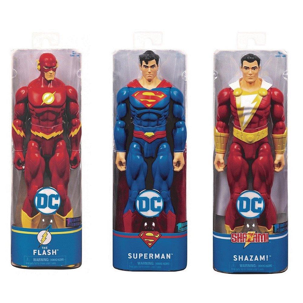 DC 12吋人偶 SUPERMAN+THE FLASH+SHAZAM!
