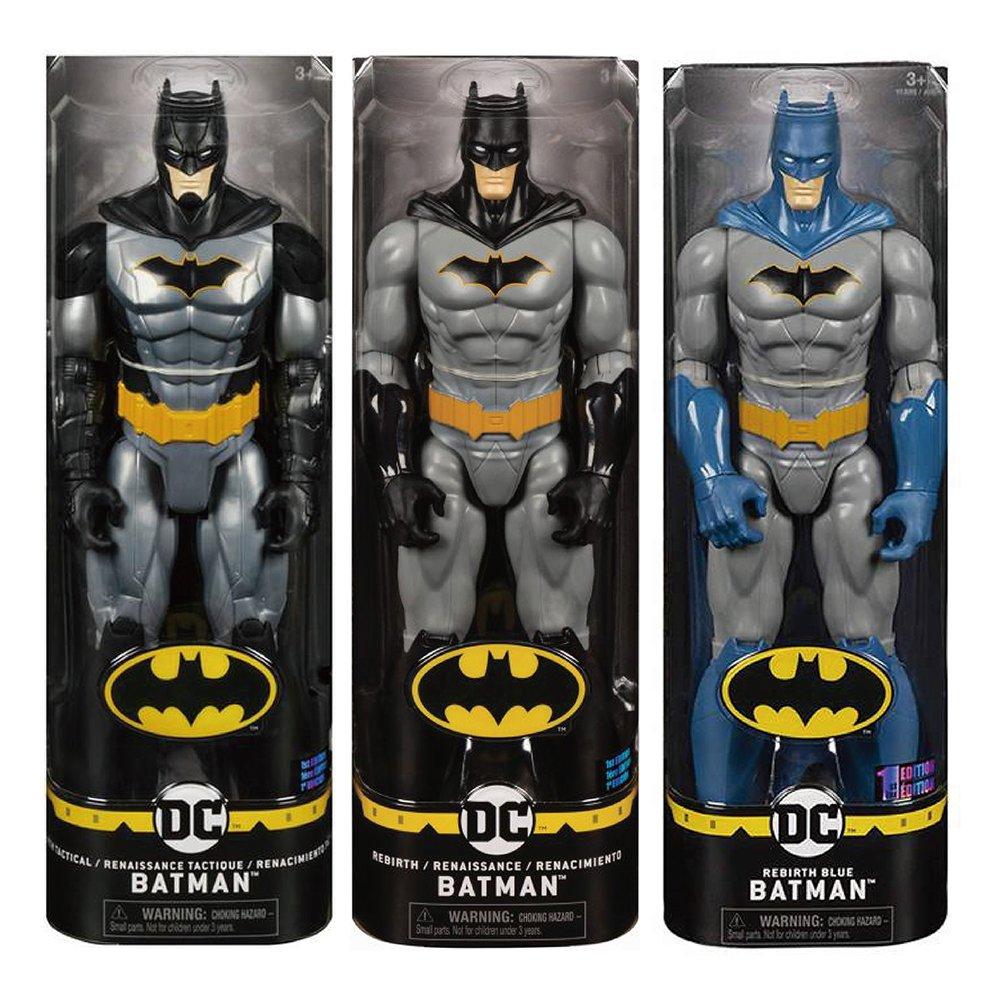 Batman 12吋蝙蝠俠可動人偶 RENAISSANCE BATMAN+RENAISSANCE BLEUE BATMAN+RENAISSANCE TACTIQUE BATMAN