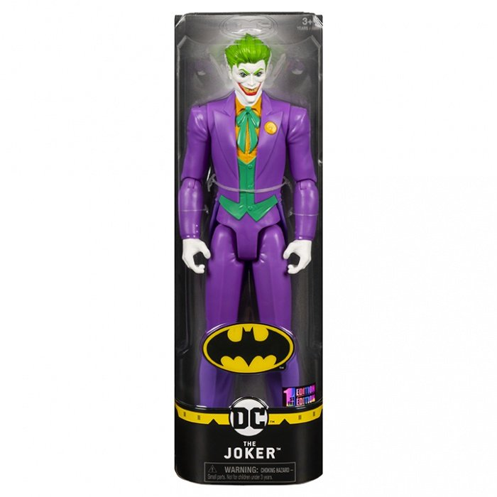 Batman 12吋蝙蝠俠反派可動人偶 THE JOKER