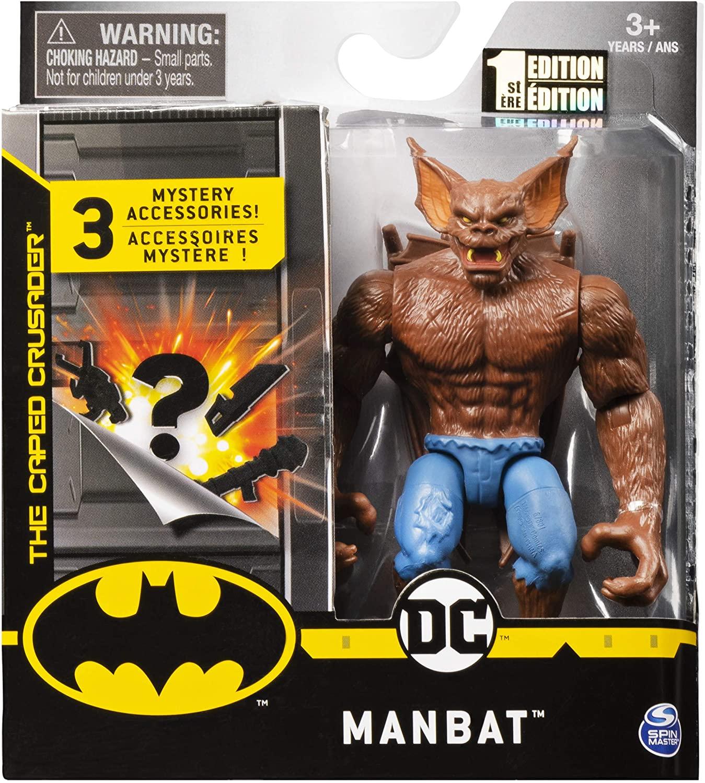 Batman 4吋蝙蝠俠反派可動人偶 MANBAT
