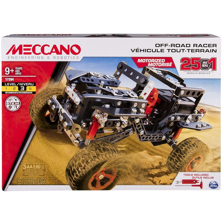 MECCANO 金屬組合模型 #17204 25合1卡車組 【電動型】