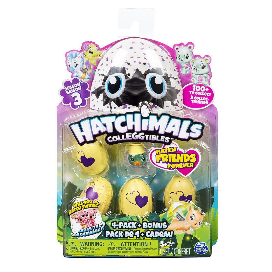 Hatchimals 迷你寵物蛋- 五入組S3