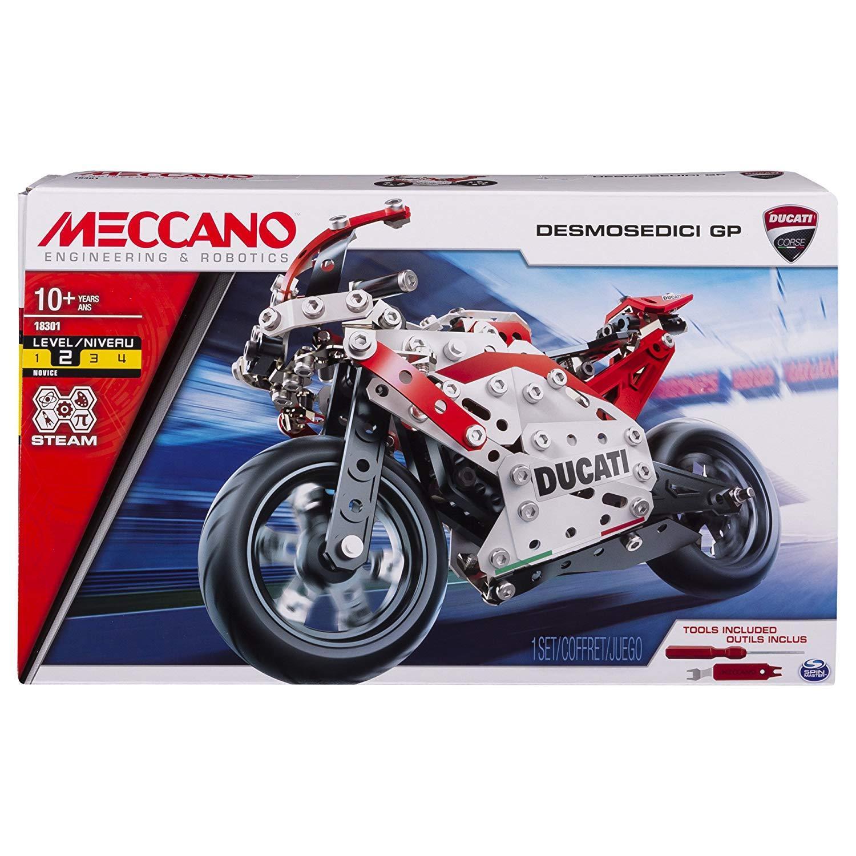 MECCANO 金屬組合模型 #18301 Ducati重型機車組 (6044539)
