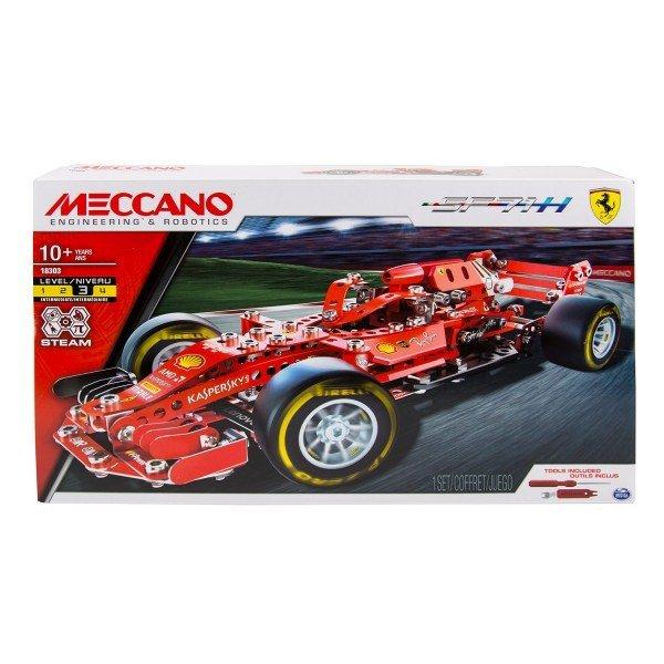 MECCANO 金屬組合模型 #18303 法拉利F1賽車組