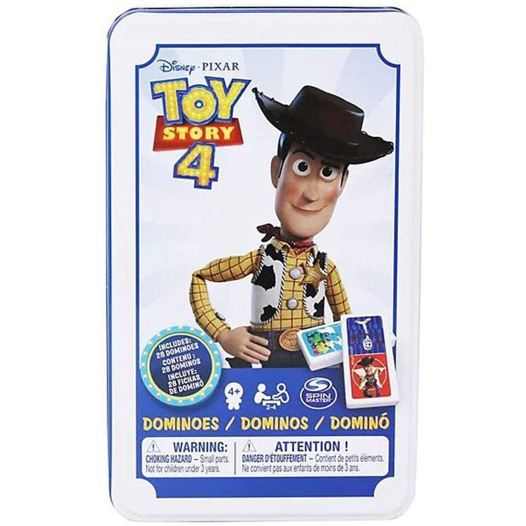 玩具總動員4 鐵盒多米諾骨牌