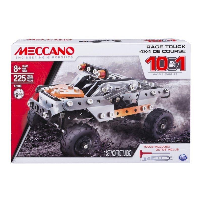 MECCANO 金屬組合模型 #17203 10合1卡車組