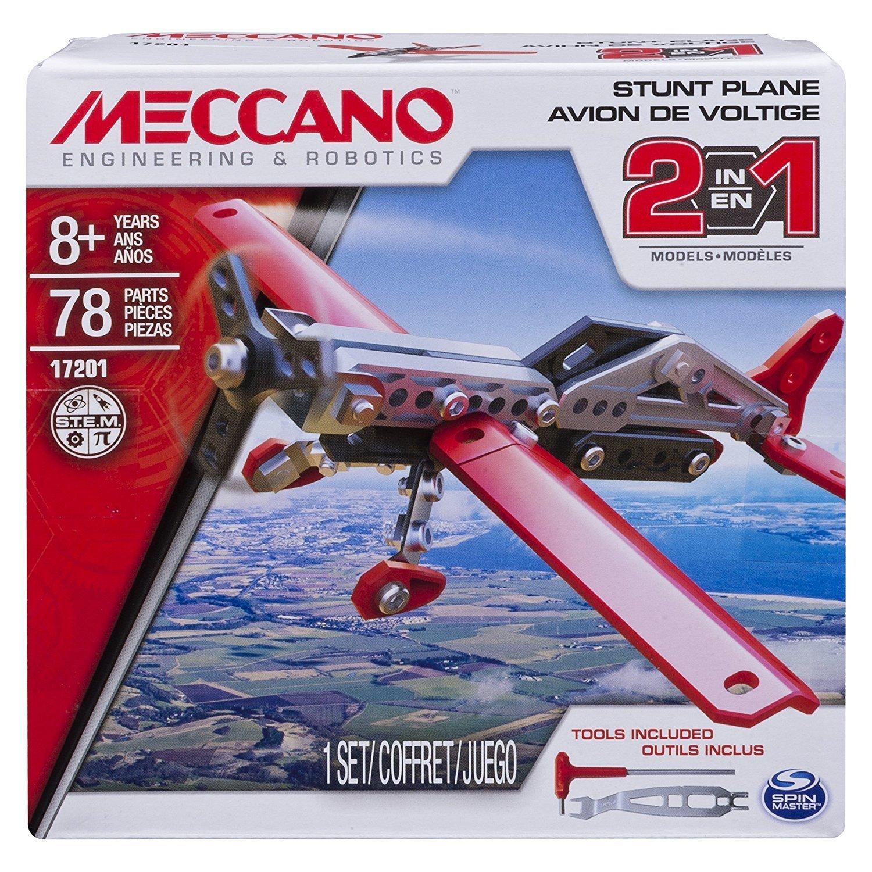 MECCANO 金屬組合模型 #17201 2合1飛機組