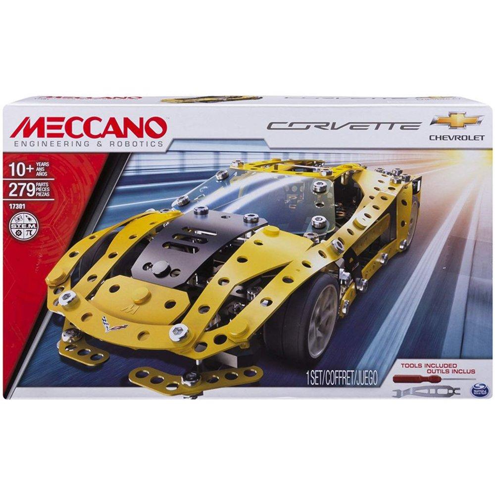 MECCANO 金屬組合模型 #17301 雪佛蘭跑車組 (大黃蜂)
