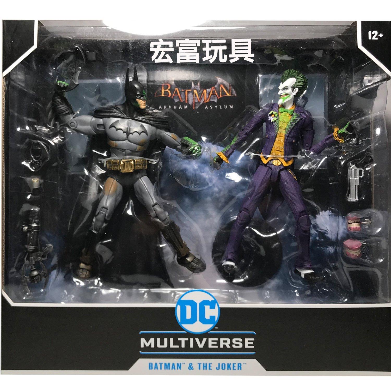 麥法蘭 DC Multiverse 7吋 蝙蝠俠阿卡漢瘋人院