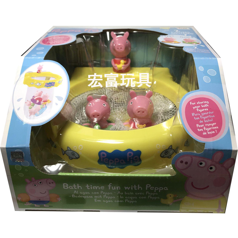 Peppa Pig 粉紅豬小妹 快樂洗澡遊戲組