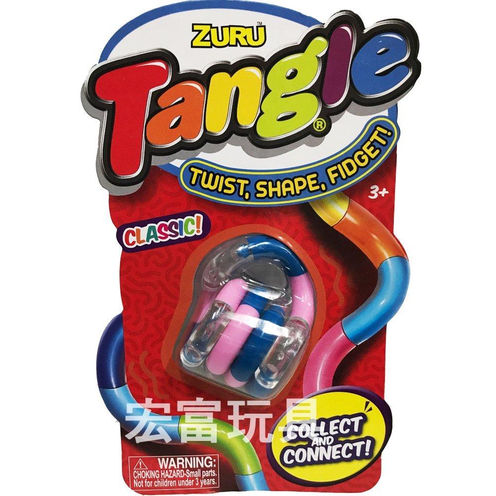 TANGLE無限扭轉雕塑繩(基本色)《隨機出貨》 【出清特價品】