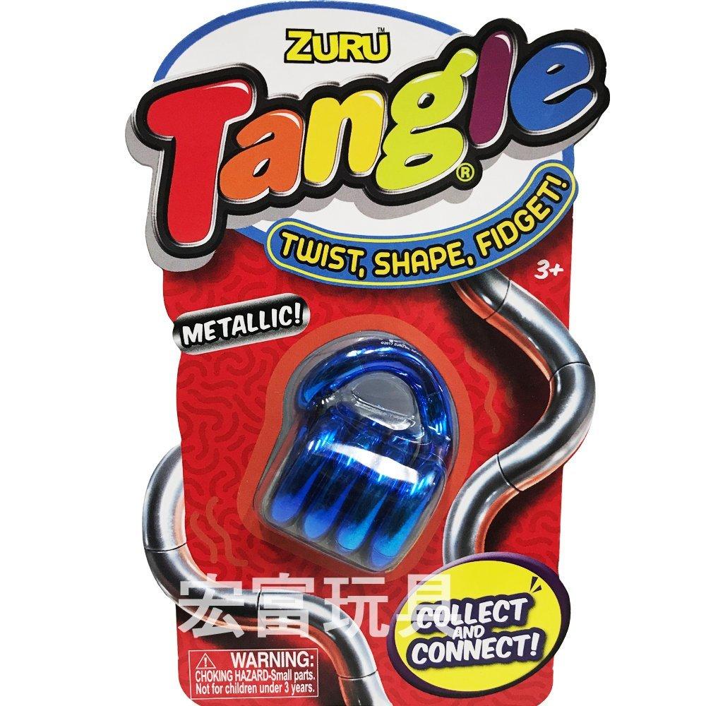 TANGLE無限扭轉雕塑繩(金屬色)《隨機出貨》 【出清特價品】