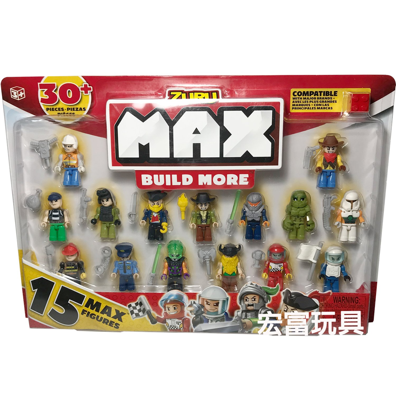 MAX BUILD MORE 創意積木 公仔組