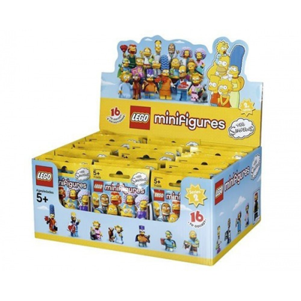 LEGO 71009 辛普森家庭 人偶包 Simpsons Series 2 一盒60入