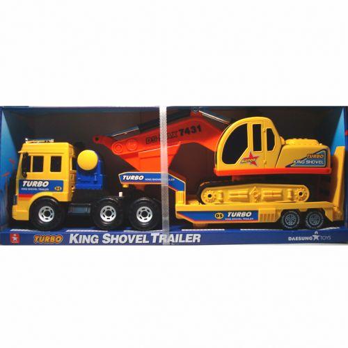 工程車系列 DS-919 摩輪運輸車 + 挖土機