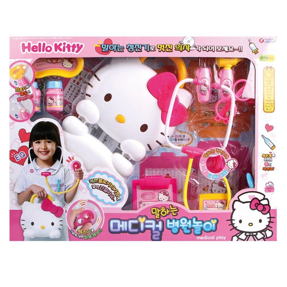 Hello Kitty 造型手提盒醫護組