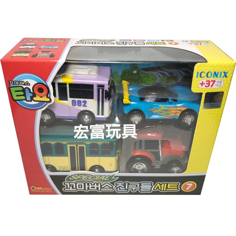 TAYO小巴士 遊園車4件組