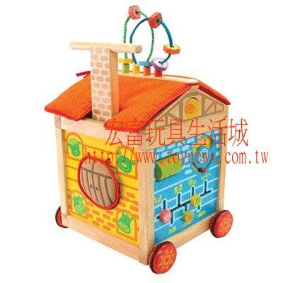 德國Im TOY 泰國木製-移動的學習屋