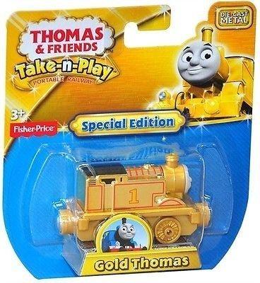 Take-n-Play 湯瑪士合金車湯瑪士黃金小火車