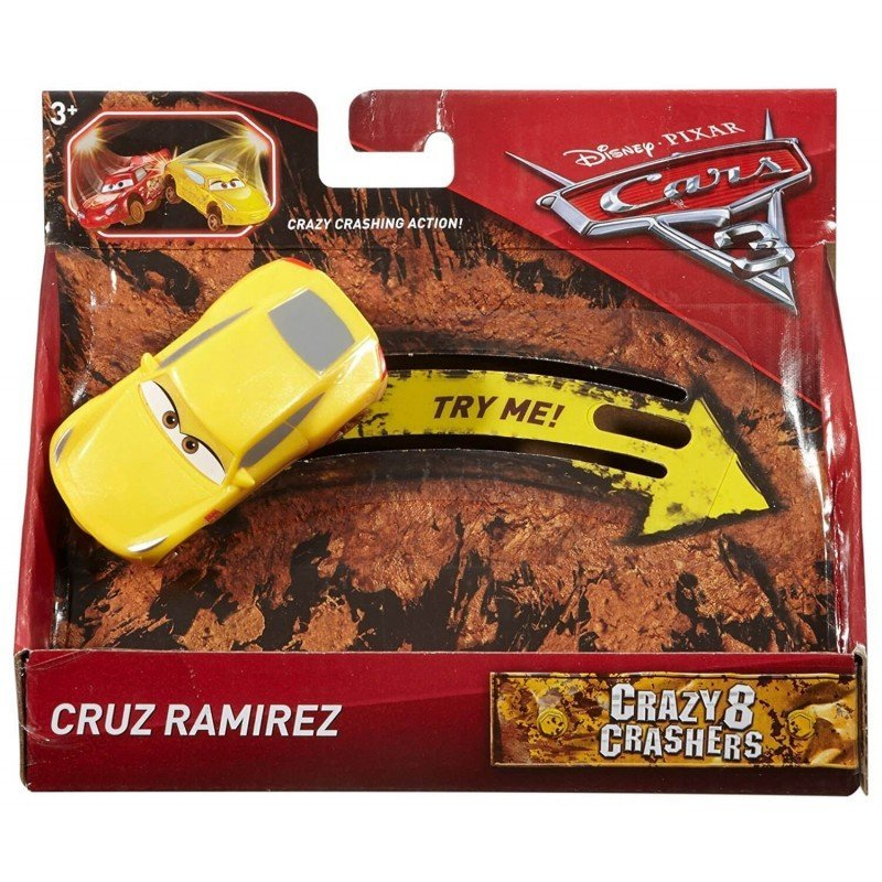 MATTEL CARS 汽車總動員 瘋狂賽車 CRUZ RAMIREZ