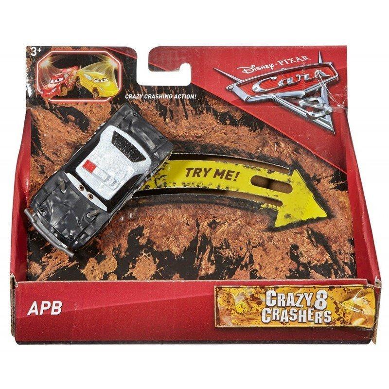 MATTEL CARS 汽車總動員 瘋狂賽車 AP8