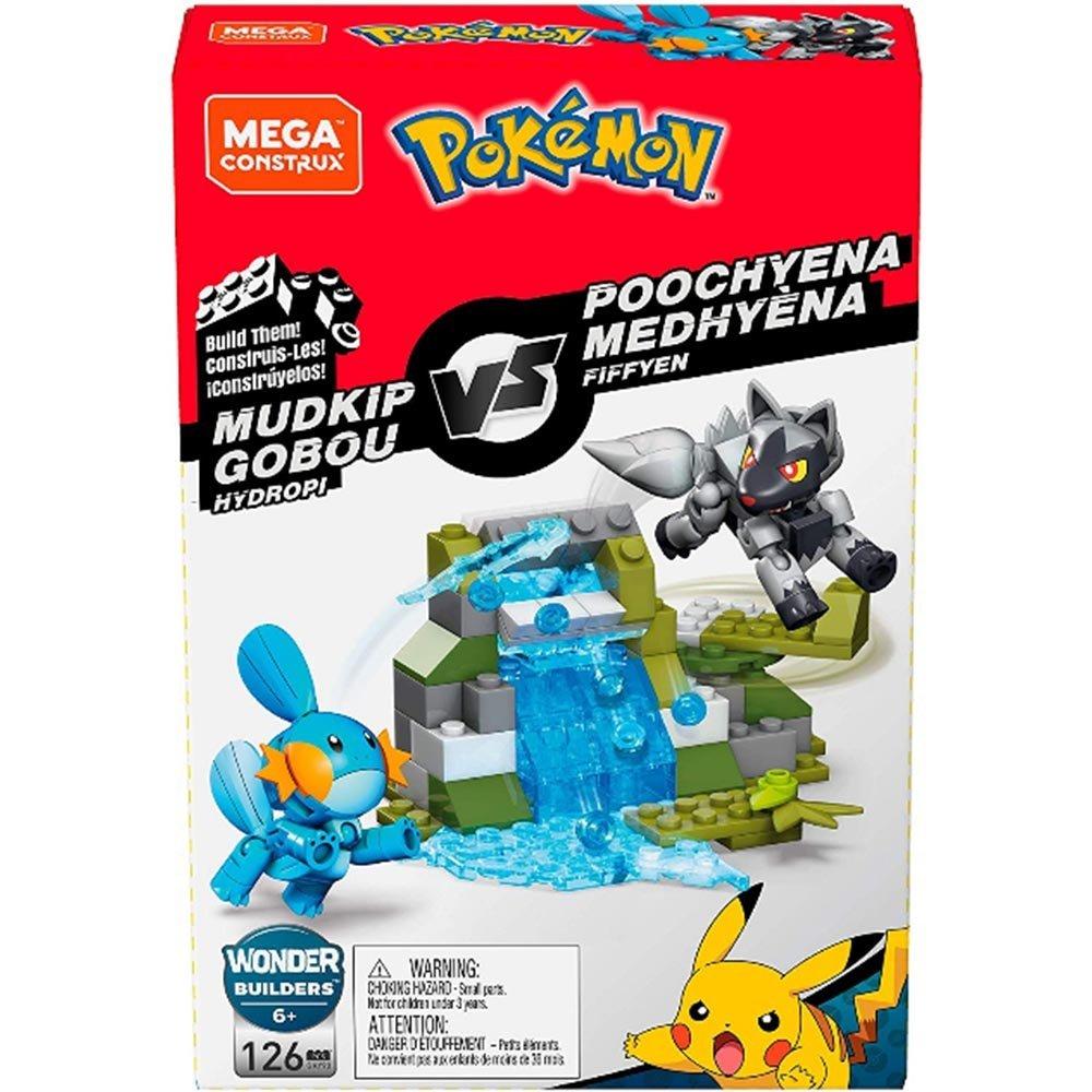 MEGA Construx 美高 創建寵物小精靈對戰組-水躍魚 【特價品】