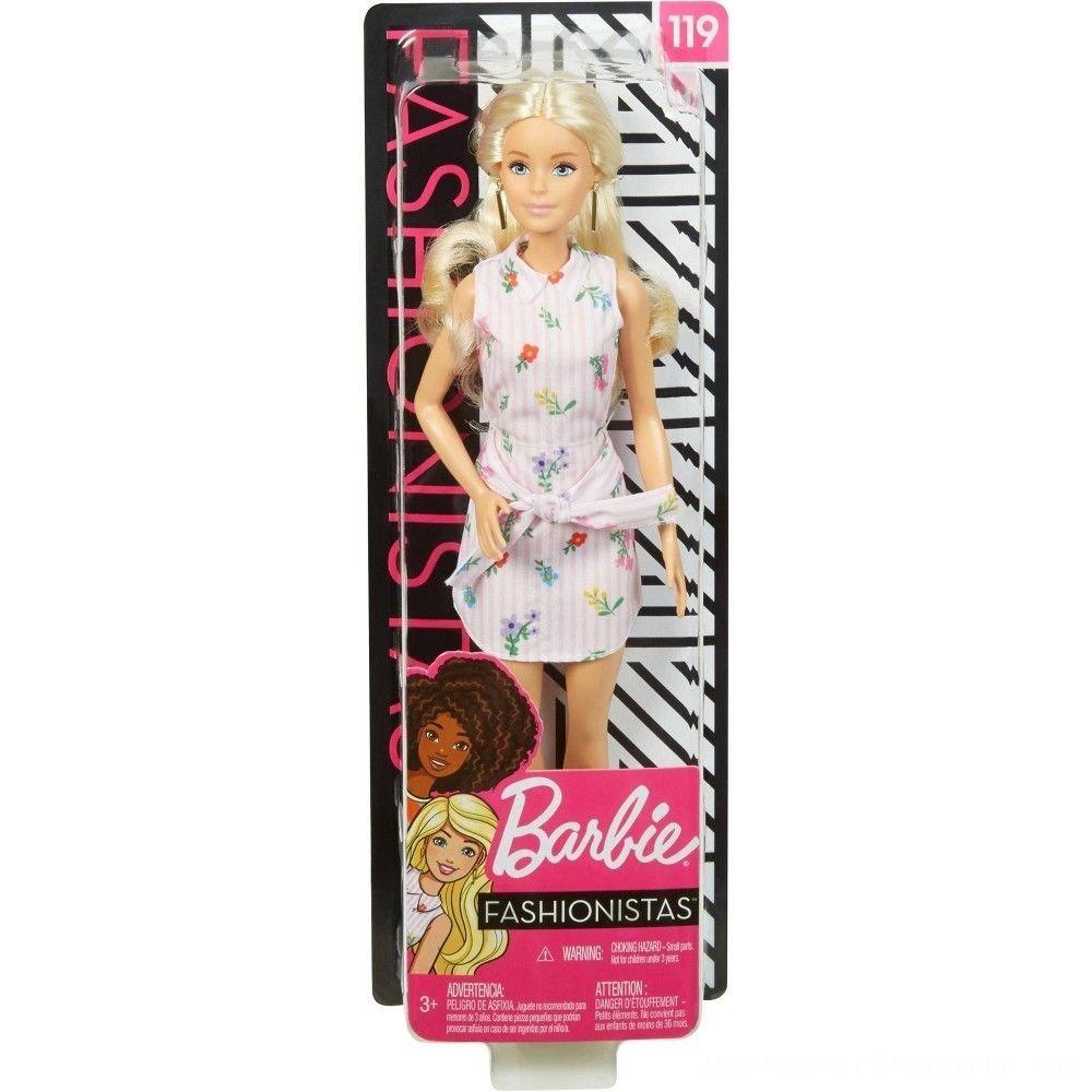 MATTEL Barbie 芭比娃娃 時尚達人系列芭比 【金髮】