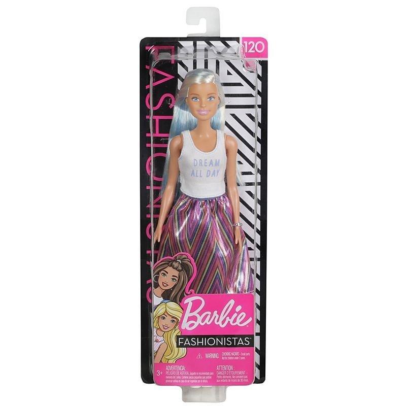 MATTEL Barbie 芭比娃娃 時尚達人系列芭比 【金藍髮】