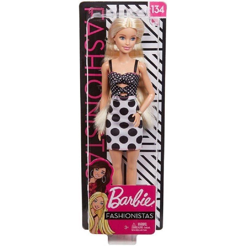 MATTEL Barbie 芭比娃娃 時尚達人系列芭比 #134 【金髮】