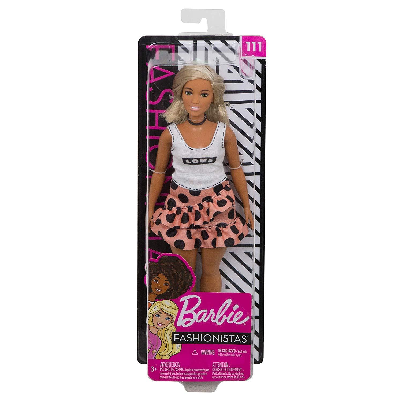 MATTEL Barbie 芭比娃娃 時尚達人系列芭比 #111 【金髮】